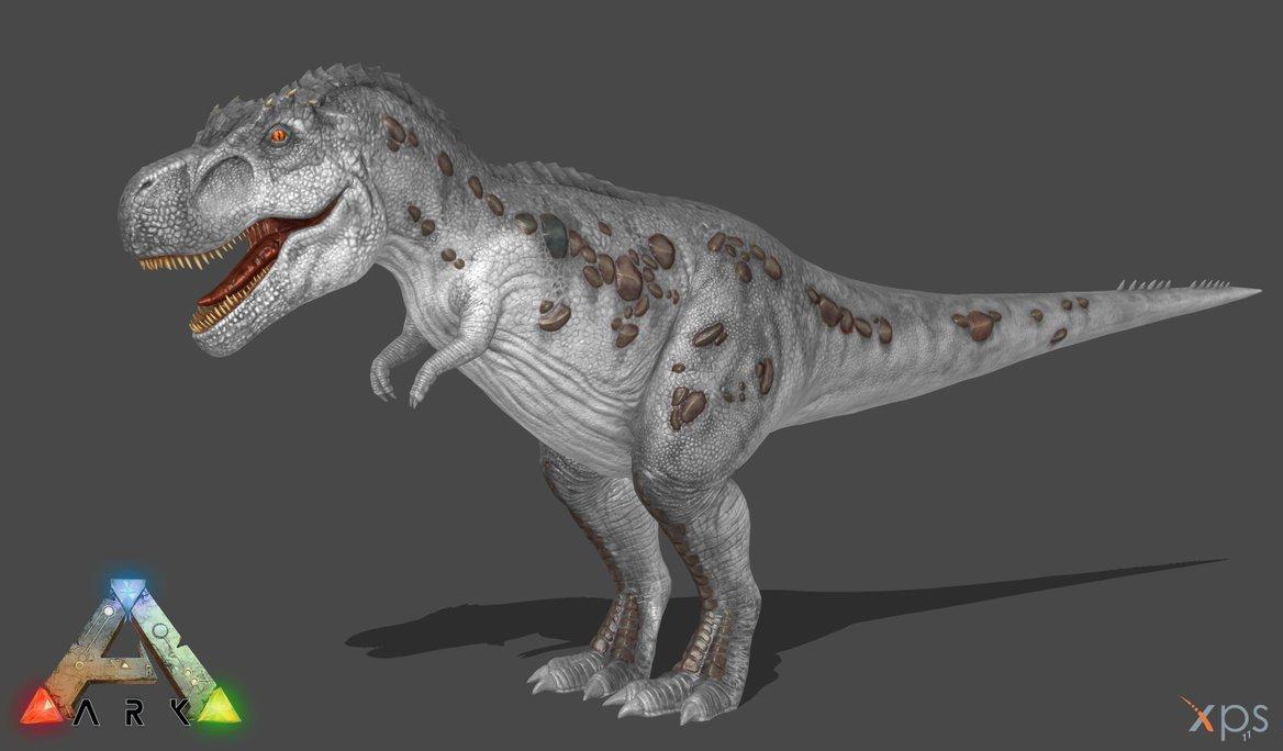 l'encyclopédie d'ark : le tyrannosaurus rex - encyclopédie - ark