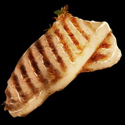 Viande de poisson cuite