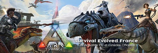 ARK France - Actualités officielles PC et consoles en français
